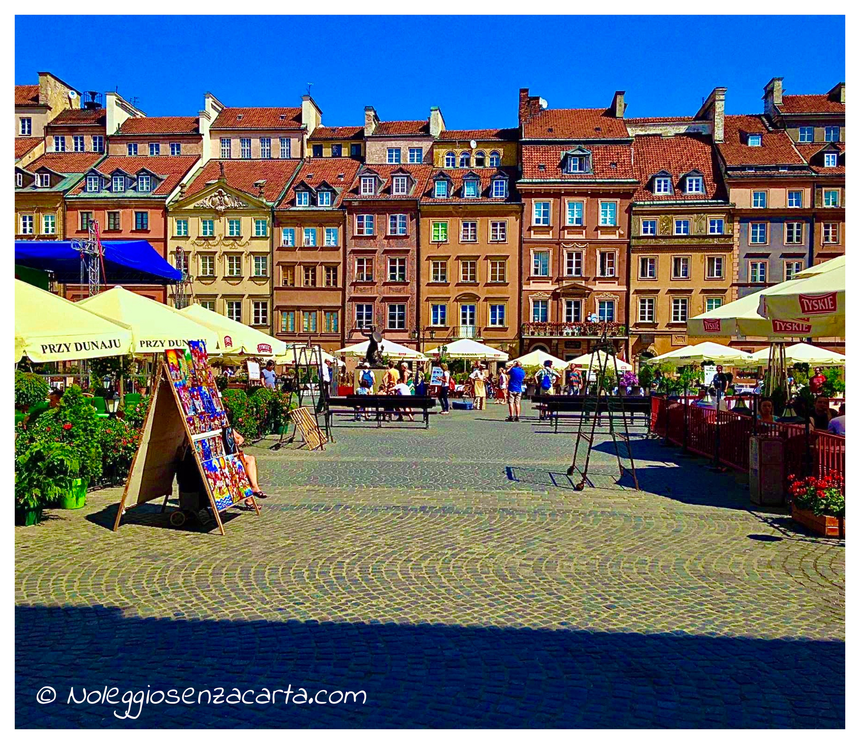 Noleggiare auto senza carta di credito a Varsavia