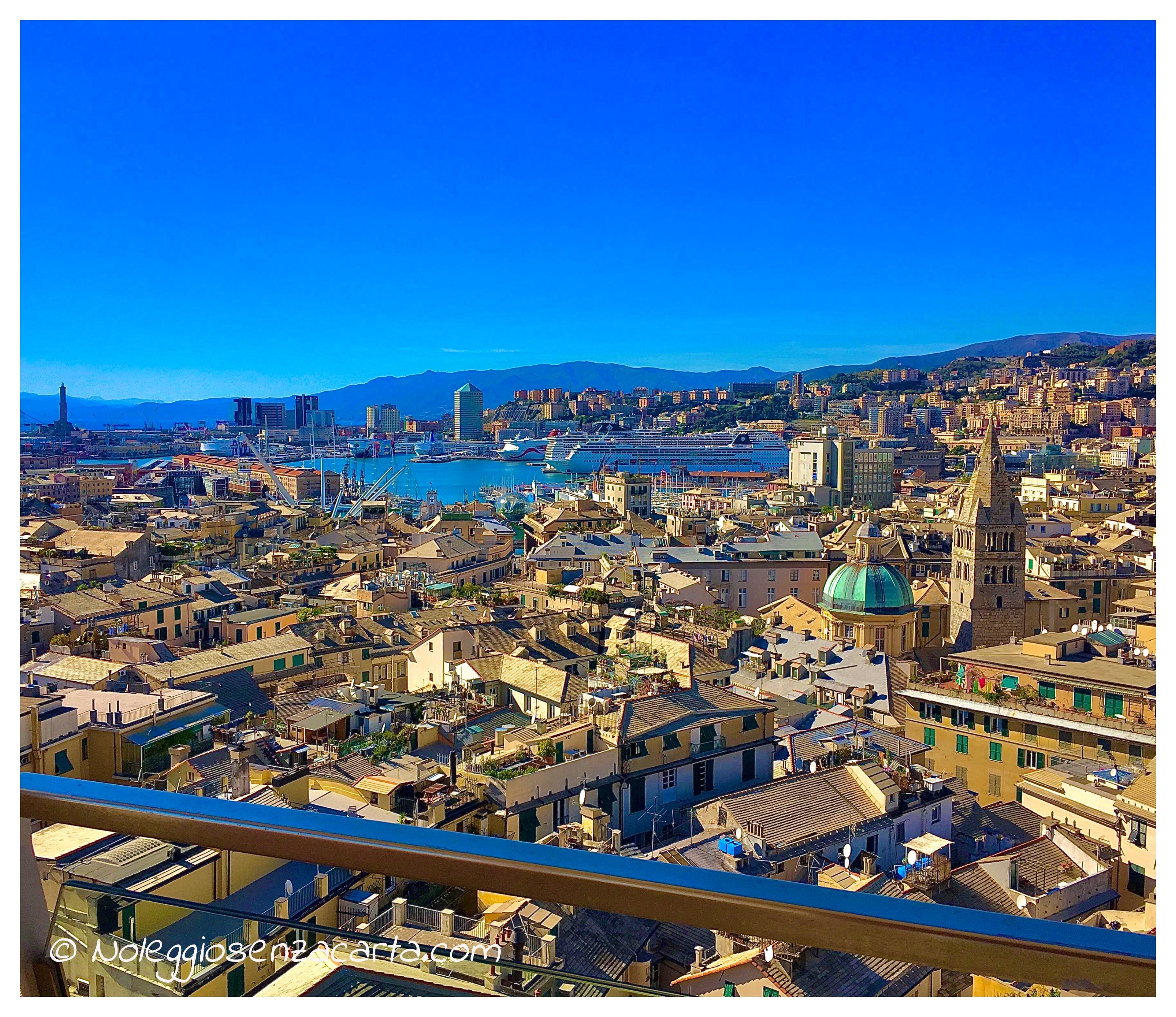 Noleggiare auto senza carta di credito a Genova