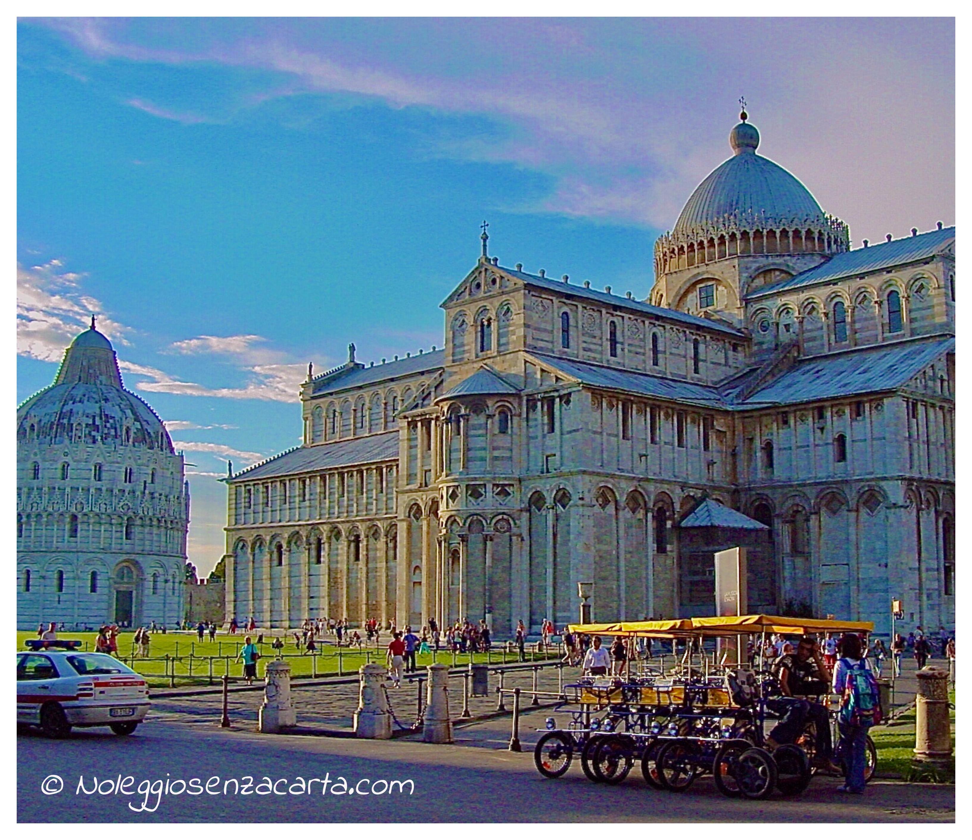 Noleggiare auto senza carta di credito a Pisa