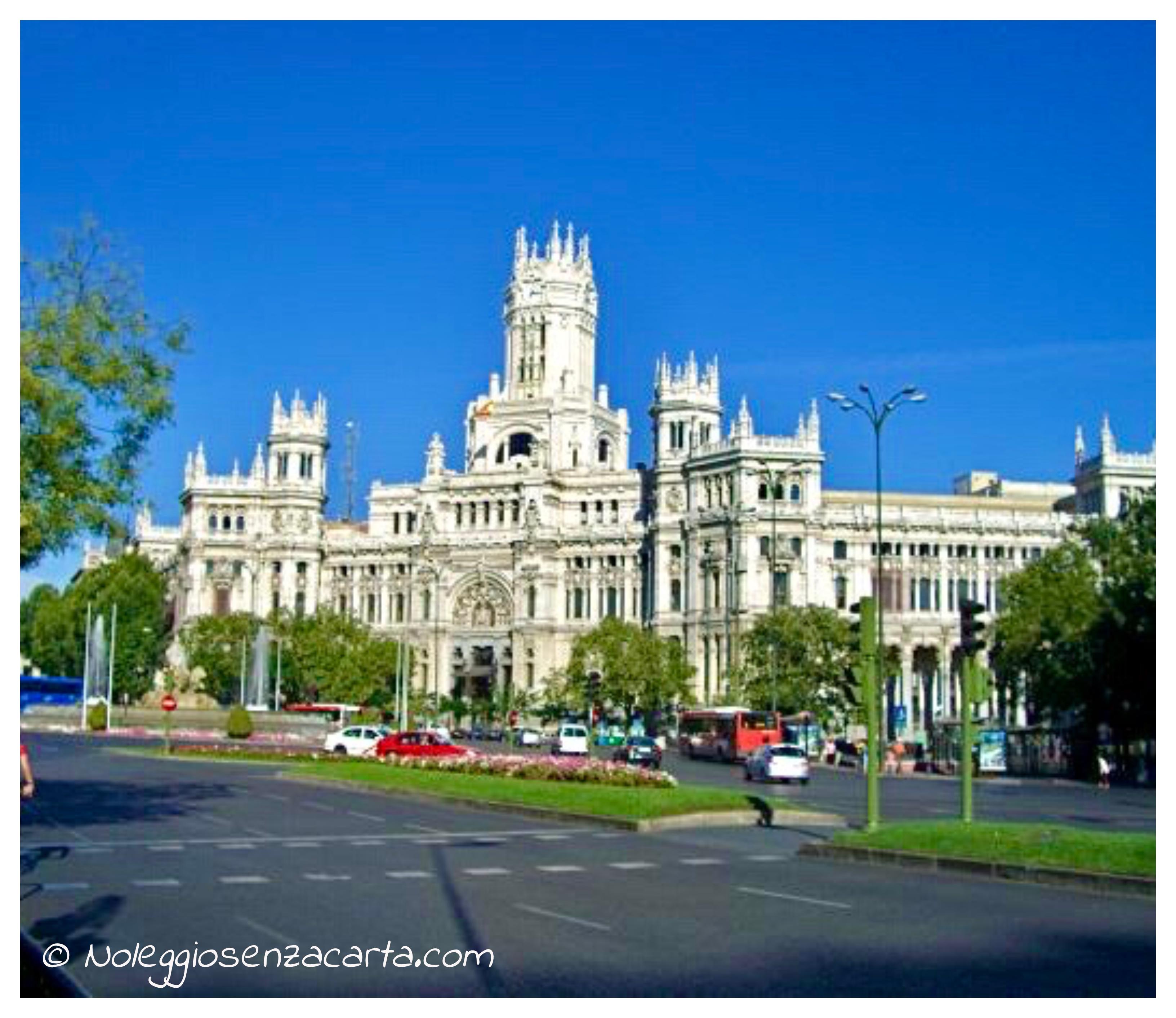 Noleggiare auto senza carta di credito a Madrid