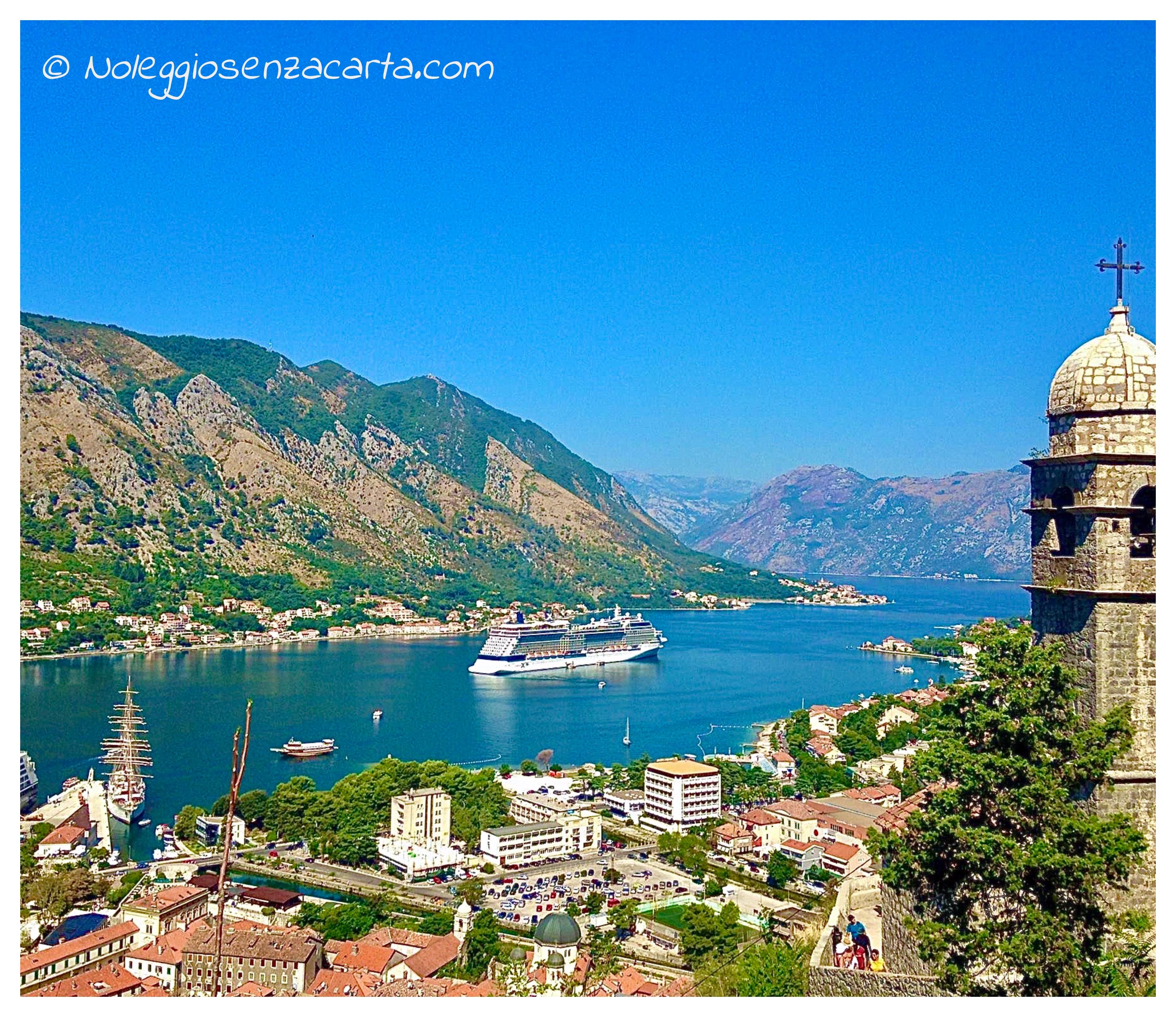 Noleggiare auto senza carta di credito in Montenegro
